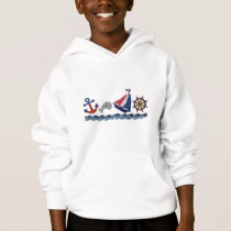 Nautical Pattern Hoodie