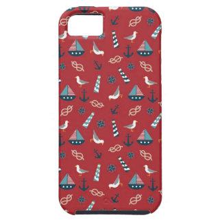 Nautical Pattern iPhone SE/5/5s Case
