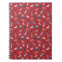 Nautical Pattern Notebook