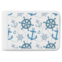 Nautical pattern power bank