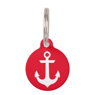 Nautical Pet ID Tag