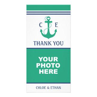 Nautical Photo Thank You Card