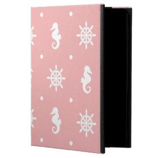Nautical pink coral pattern powis iPad air 2 case