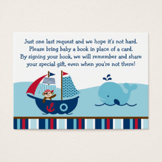Nautical Pirate Book Request Cards
