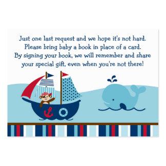 Nautical Pirate Book Request Cards