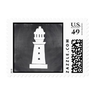 Nautical Postage Stamp