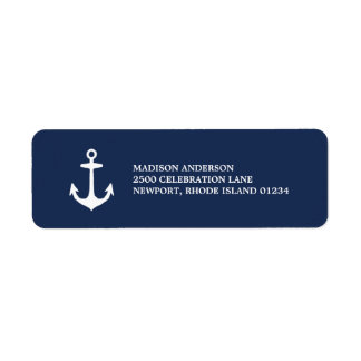 Nautical | Return Address Label