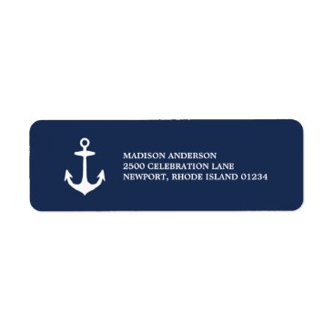 FINEandDANDY Nautical | Return Address Label