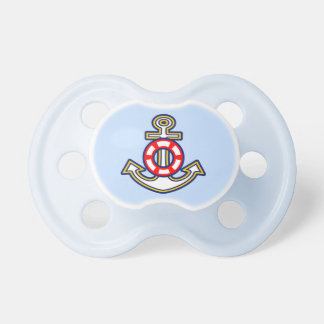 Nautical Rope Anchor Baby Pacifier