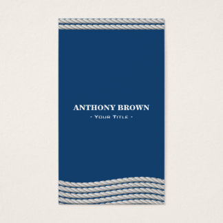 Nautical Rope Business Card
