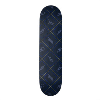 Nautical Rope Knot Pattern Skateboard Deck