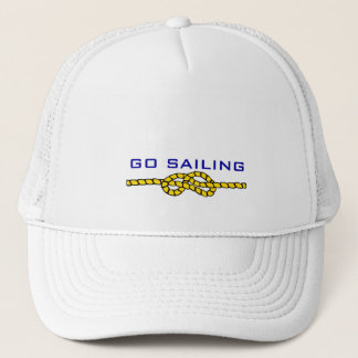 Nautical Rope Knot-Sailing Trucker Hat