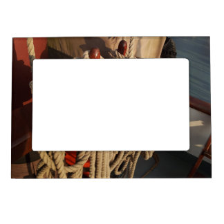 Nautical Rope on a Boat Magnetic Photo Frame