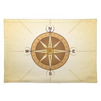 Nautical Rose Compass Placemat