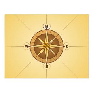 Nautical Rose Compass Postcards