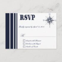 Nautical RSVP Cards V