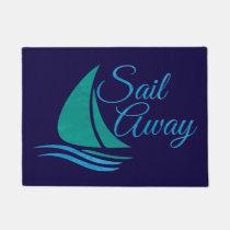 Nautical Sail Away Doormat