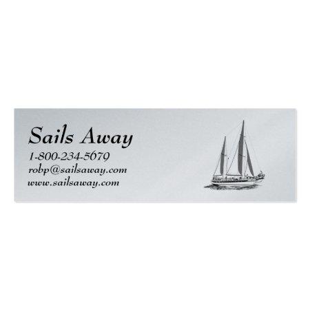 Nautical Sail Boat
