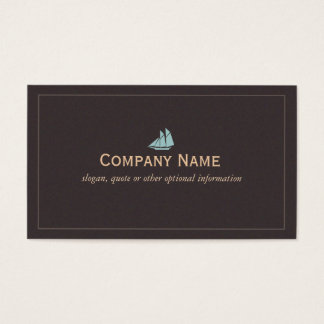 Nautical Sail Boat Business Card