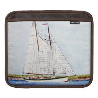 Nautical Sail Boat Sea Ocean Pirat IPAD Laptop Bag Sleeves For iPads