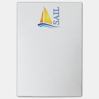 Nautical Sail Modern Post-it® Notes