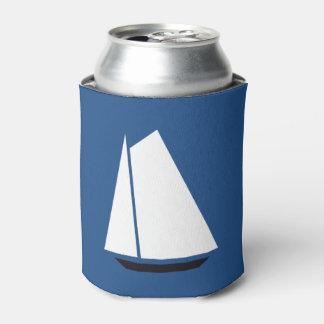Nautical Sail Ship Can Cooler