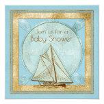 unique, baby shower, nautical, baby boy, sailing