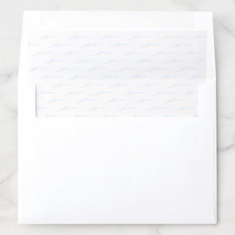 Nautical Sailboat Envelope Liners