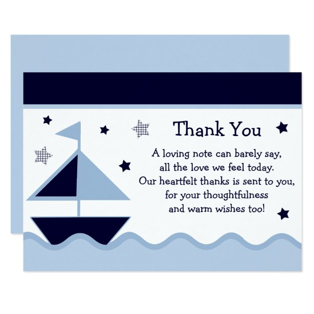 Nautical Baby Shower Invitations & Announcements | Zazzle