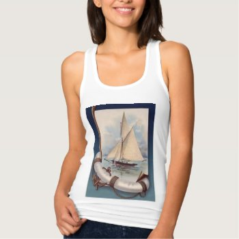 Nautical Sailboat Tank Top by creativeconceptss at Zazzle