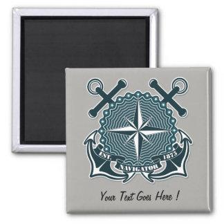 Nautical sailing Motive Fridge Magnet