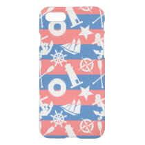 Nautical Sailing Pattern iPhone 8/7 Case