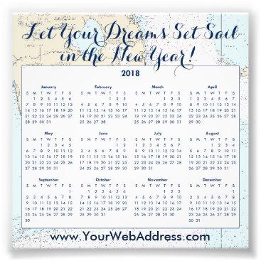 Professional Business Nautical Sailing Quote • Florida • Calendar Promo Photo Print
