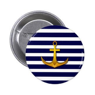 Nautical Sailor Button