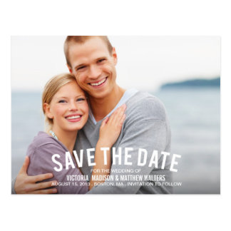 NAUTICAL | SAVE THE DATE ANNOUNCEMENT POSTCARD