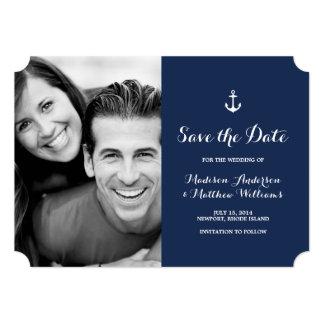 Nautical | Save the Date Photo Card