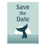 Nautical Save the Date Post Card