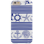 Nautical Sea Animals & Objects Barely There iPhone 6 Plus Case