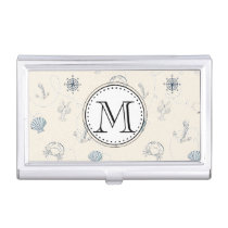 Nautical Sea Business Card Holder
