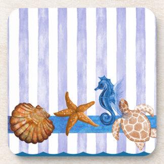 Nautical Sea Creatures Coaster