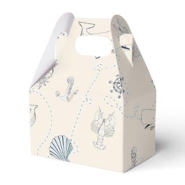 Beach Themed Nautical Sea Favor Box