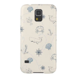 Nautical Sea Galaxy S5 Case