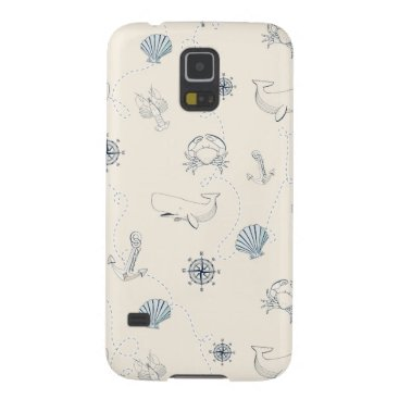 Beach Themed Nautical Sea Galaxy S5 Case