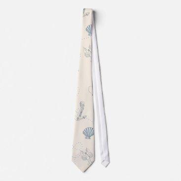Beach Themed Nautical Sea Neck Tie