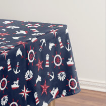 Nautical Sea Pattern Tablecloth