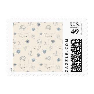 Nautical Sea Stamp