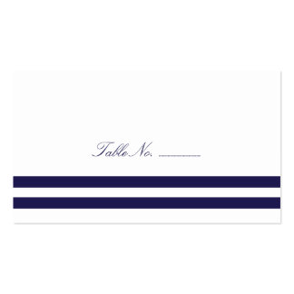 Nautical Seahorse Guest Table Escort Cards Double-Sided Standard Business Cards (Pack Of 100)