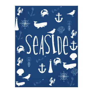 Nautical Seaside Canvas Prints