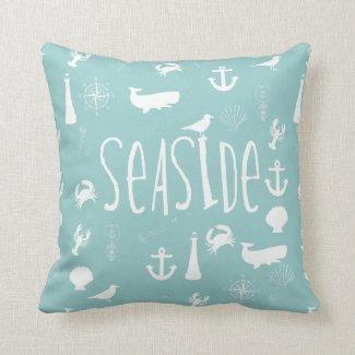 Nautical Seaside Throw Pillows