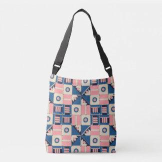 Nautical Shapes Crossbody Bag